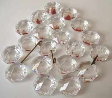 14 mm octagons - 1000 (one thousand)